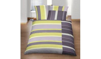 BETTWARENSHOP Bettwäsche »Pistazie«, weich und wohlig warm kaufen