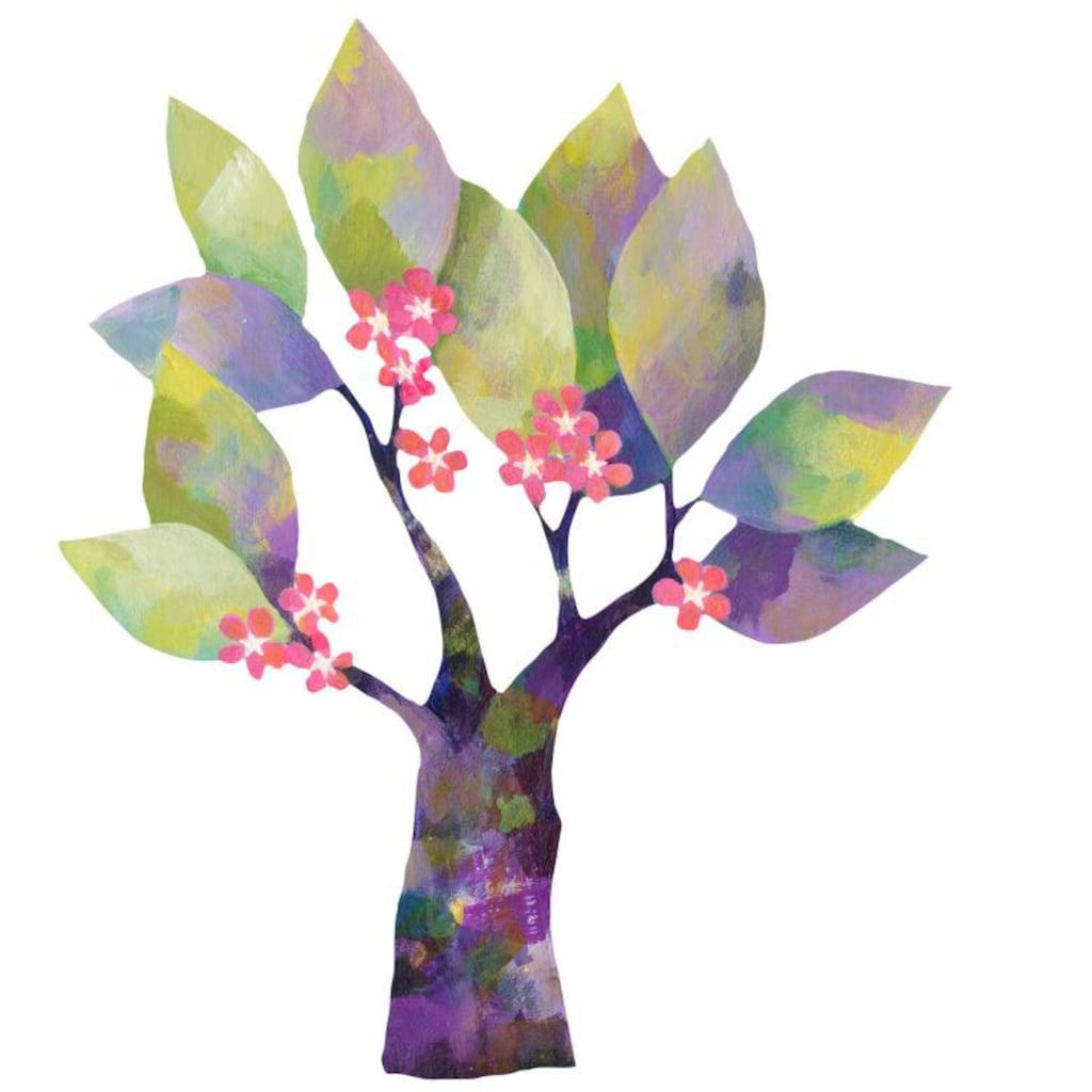 Wall-Art Wandtattoo »Märchenhaft Blumenbaum«