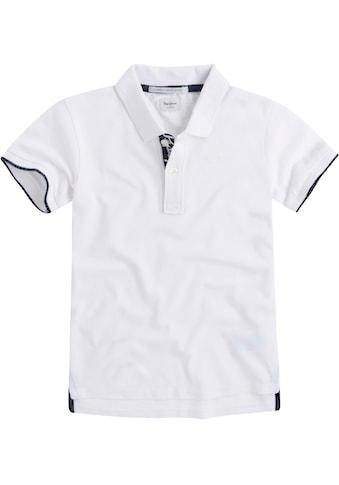 Pepe Jeans Poloshirt »mit kleiner Stickerei« kaufen