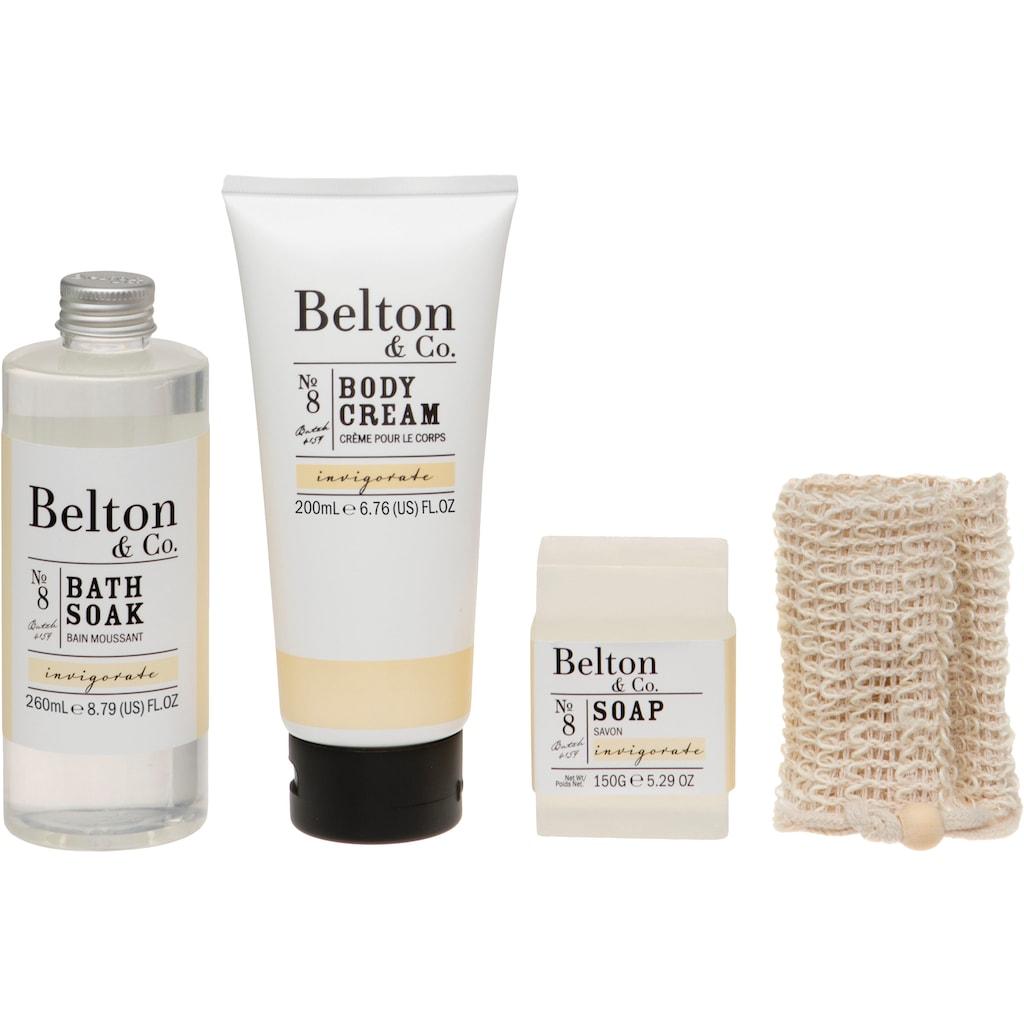 Hautpflege-Set »Belton & Co - Invigorate Bath & Body Set«, (4 tlg.)