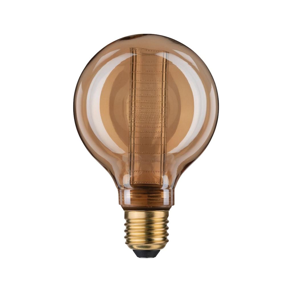 Paulmann LED-Leuchtmittel »Vintage-Globe G95 Inner Glow 4W E27 Gold mit Innenkolben Ringmuster«, E27, 1 St.