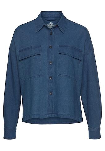 Herrlicher Jeansbluse »LASH«, Oversized Kastenform kaufen