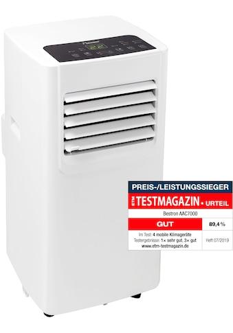 bestron Klimagerät »mobiles Gerät«, für Räume bis 28m², Kühlleistung 2,1 kW mit... kaufen