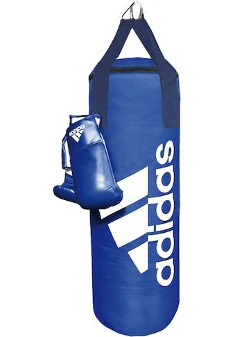 adidas Performance Boxsack »Blue Corner Boxing Kit« (Set, 2 - tlg., mit Boxhandschuhen) kaufen