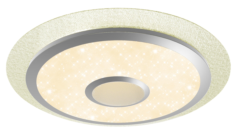 Brilliant Leuchten Ronny LED Deckenleuchte 56cm weiß