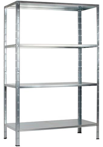 Steckregal »Haushaltsregal«, B/T/H: 75x35x180 cm kaufen