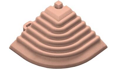 florco® Klickfliesen-Eckleiste, Eckteil terracotta, 40 cm kaufen