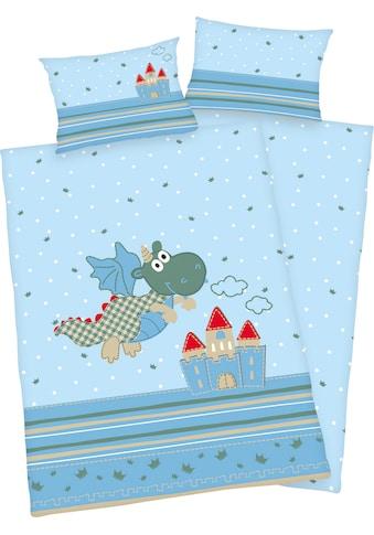 Baby Best Babybettwäsche »Kleiner Drache«, mit niedlichem Motiv kaufen
