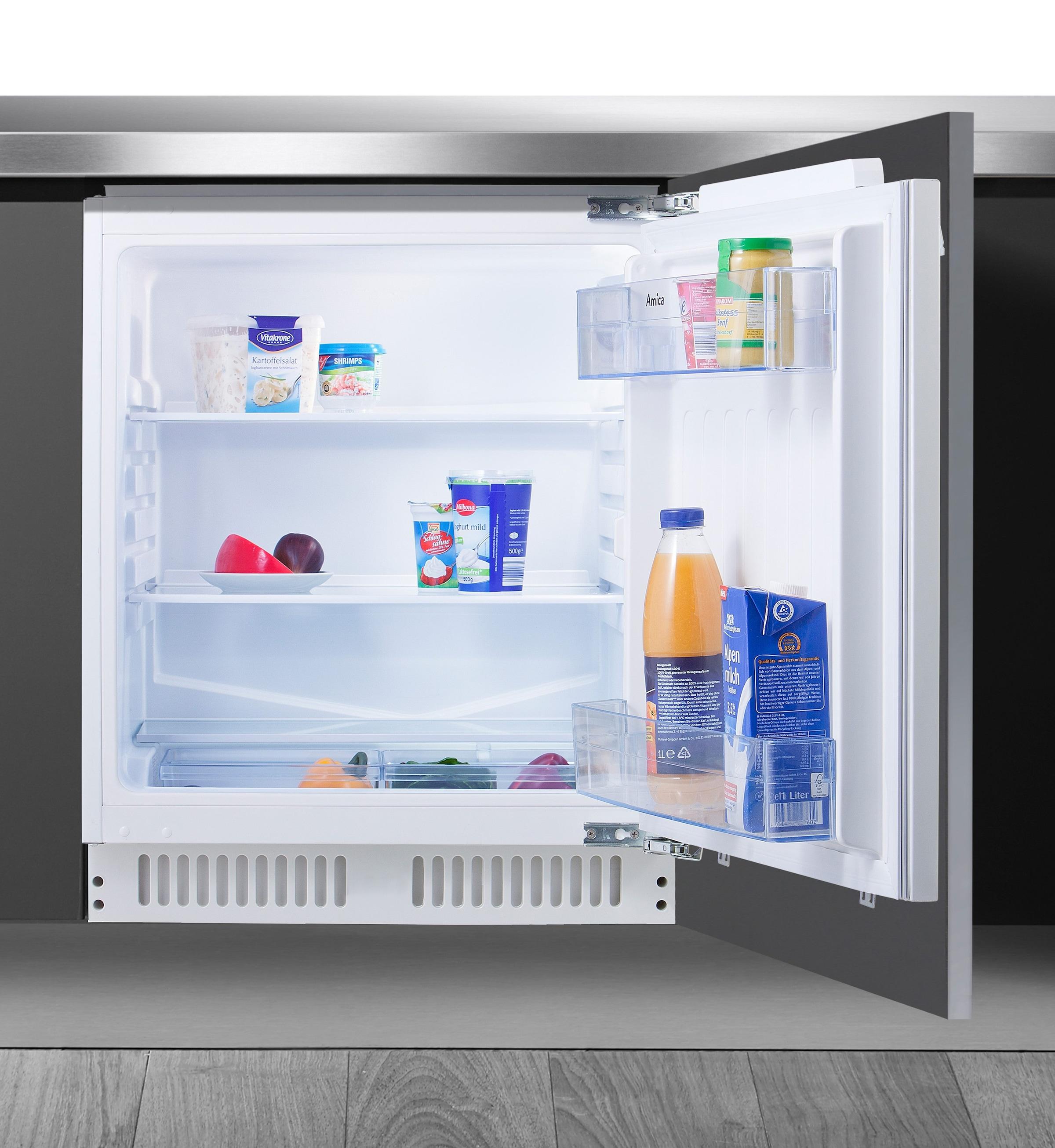 Amica Unterbau Kühlschrank 50 Cm : Amica retro kühlschrank schwarz a l gefrierfach automatsiches