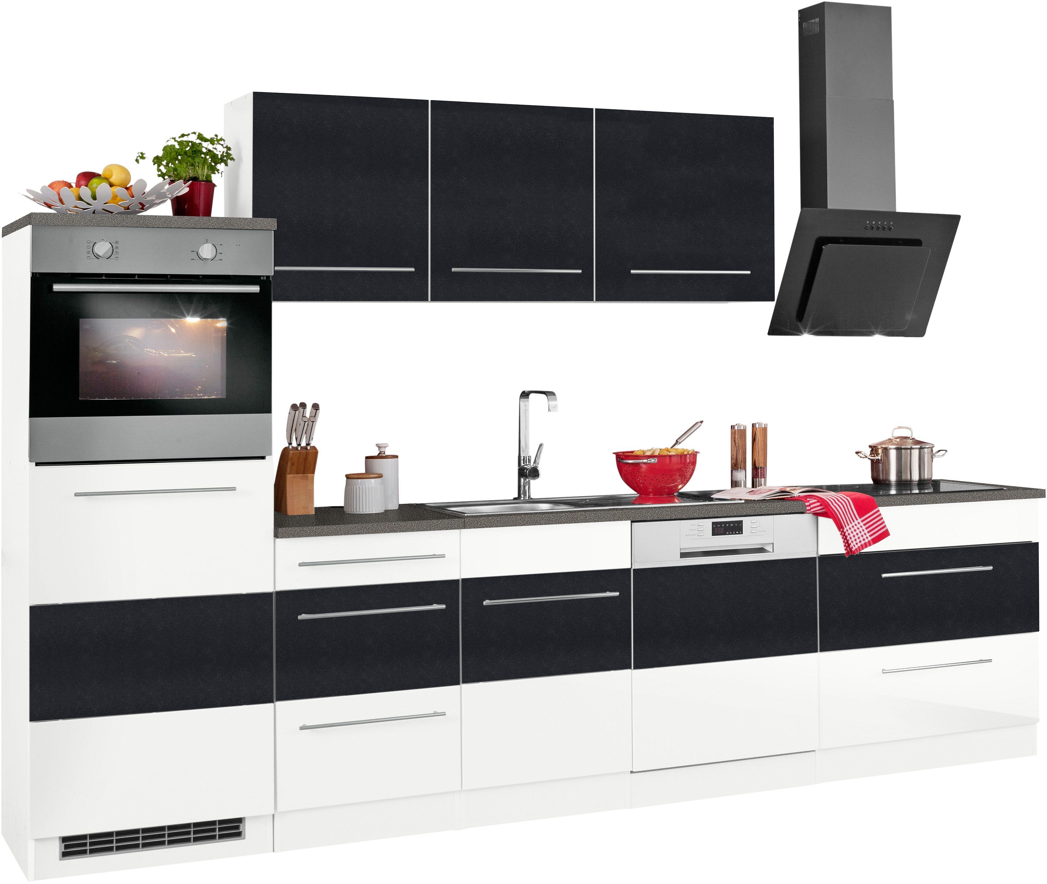 Held Möbel Küchenzeile Ohne E Geräte Trient Breite 300 Cm Kaufen