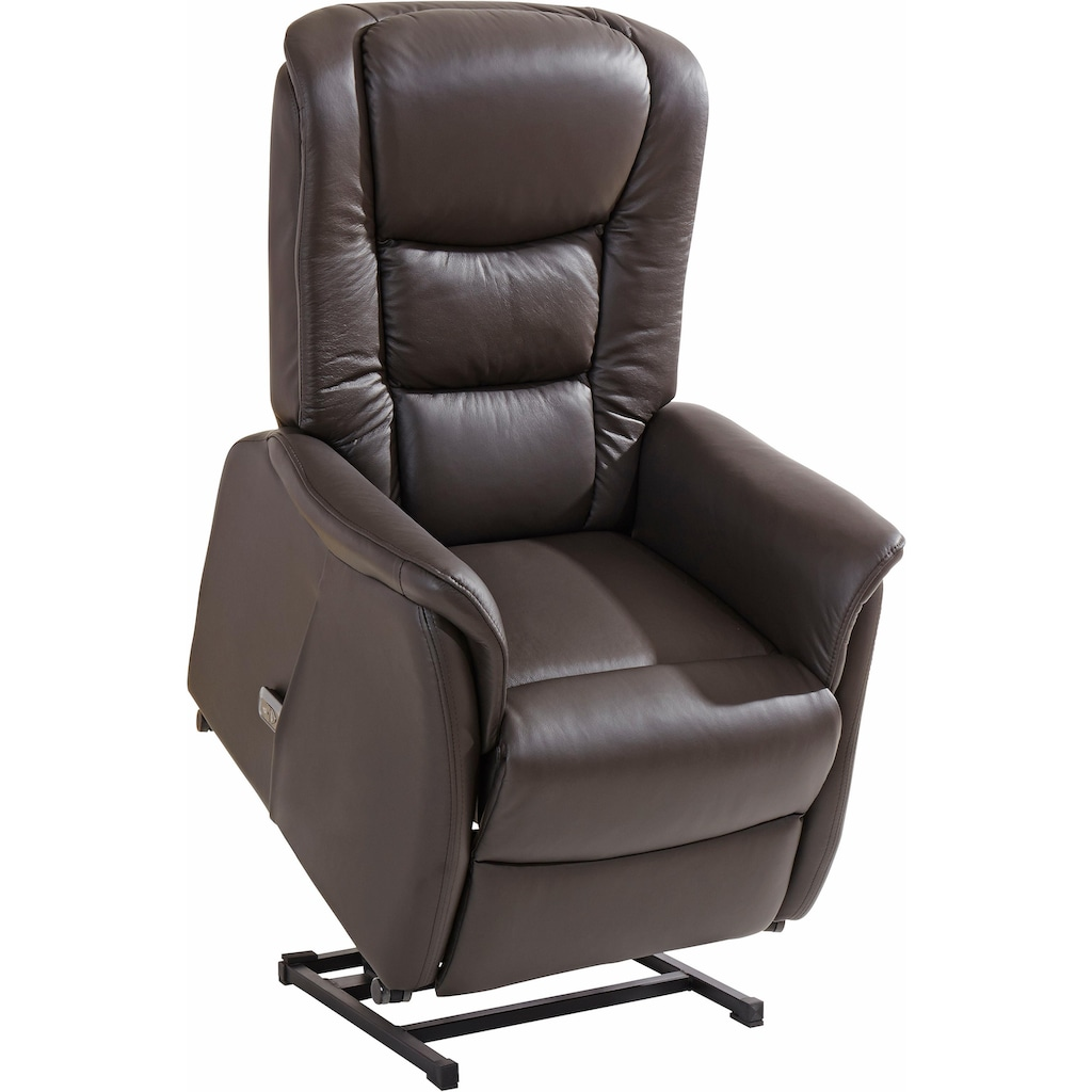 Duo Collection TV-Sessel, in NaturLEDER
