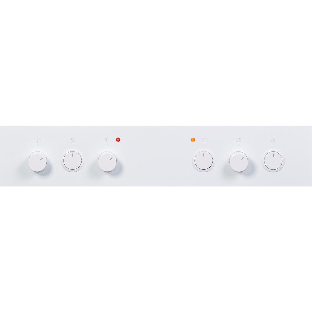 Amica Elektro-Standherd »SHC 914 111 W«, RapidWarmUp-Funktion