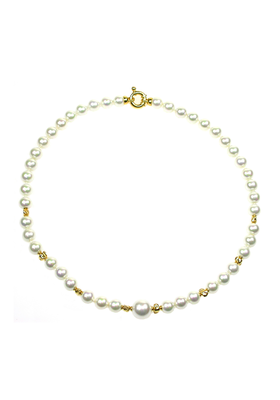 Orquidea Perlenkette Anaitis Necklace | Schmuck > Halsketten > Perlenketten | Orquidea