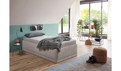 Westfalia Schlafkomfort Polsterbett »Texel«, Standardhöhe mit Zierkissen, inkl. Bettkasten bei Ausführung mit Matratze kaufen