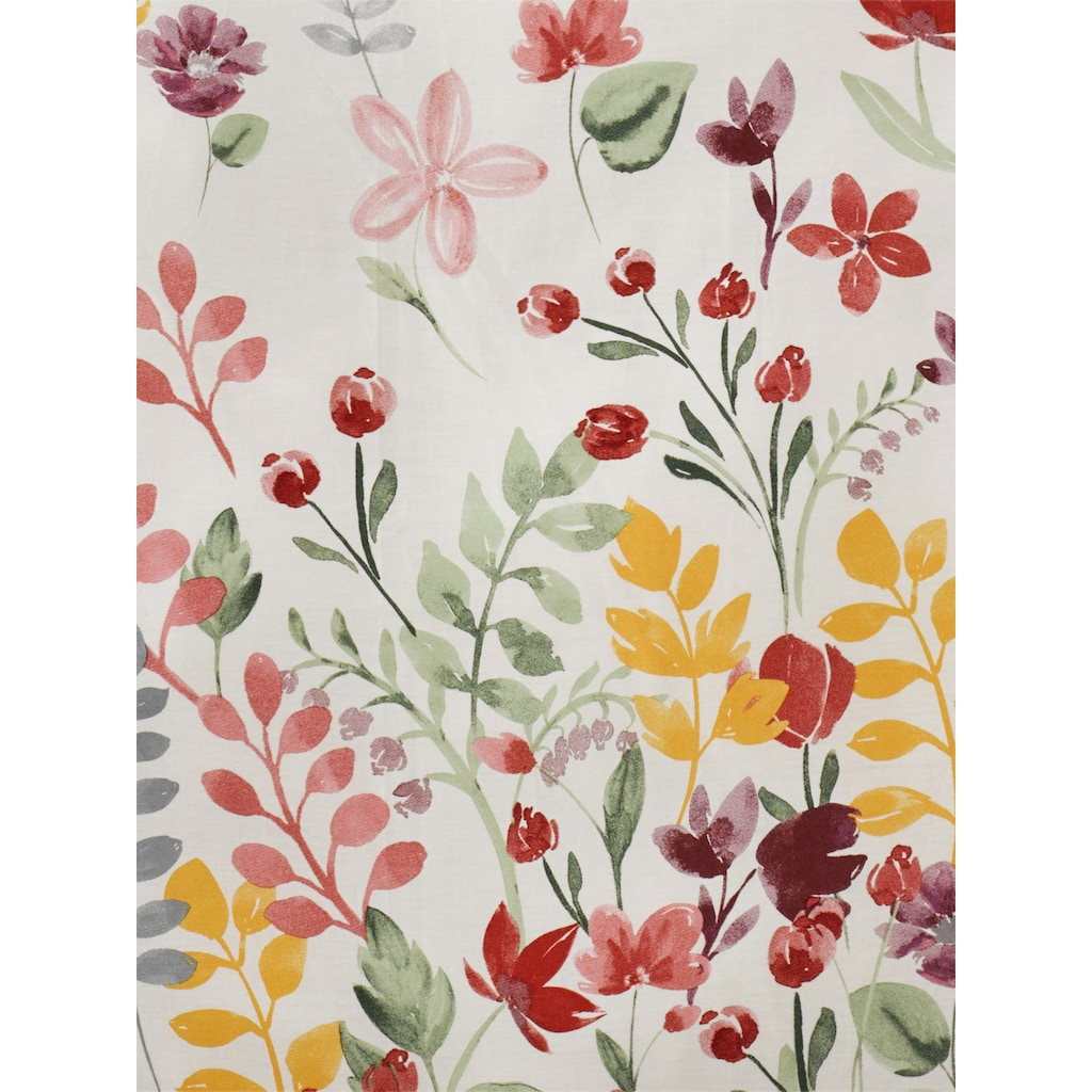 Bettwäsche MIA mit Blumen-Design