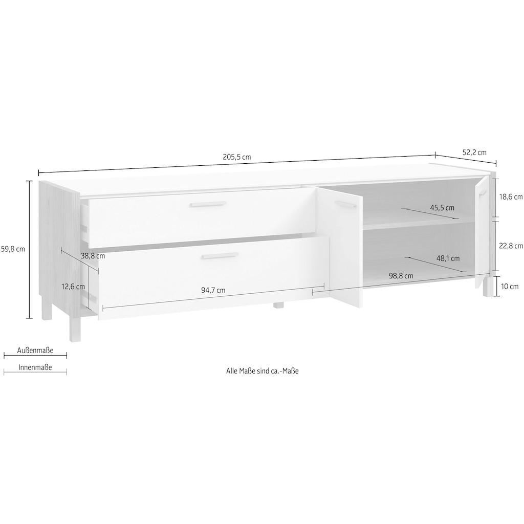 FORTE TV-Board, Breite ca. 205 cm