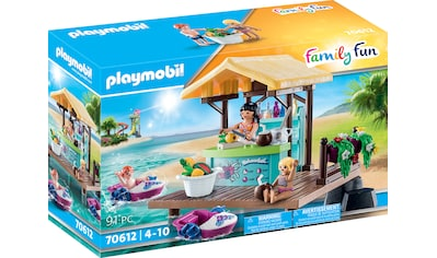 Playmobil® Konstruktions-Spielset »Paddelboot-Verleih mit Saftbar (70612), Family... kaufen