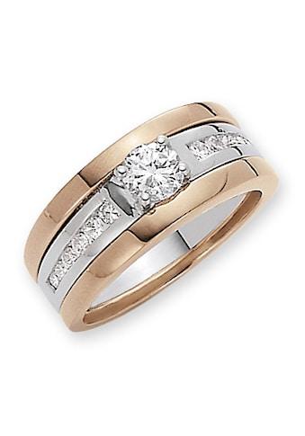 Firetti Ring - Set »Glanz, Bicolor - Optik« (Set, 3 tlg.) kaufen