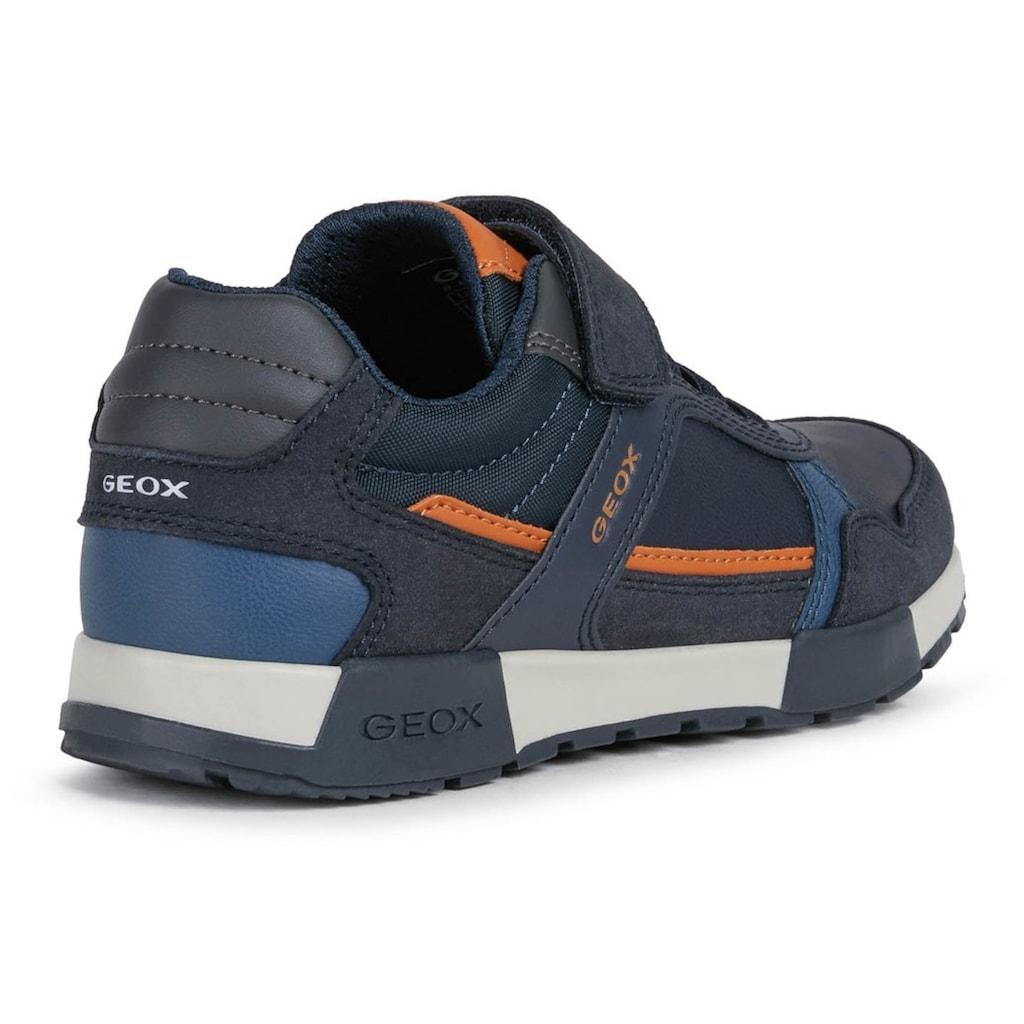 Geox Kids Sneaker »J Alfier Boy«, mit herausnehmbarer Lederinnensohle