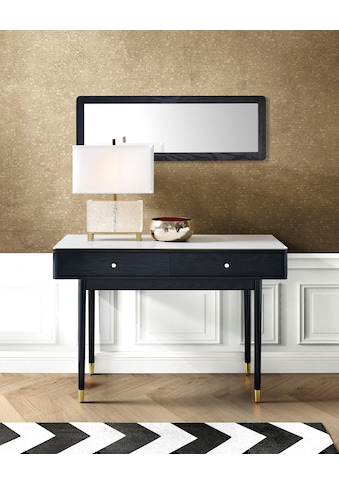 Leonique Schreibtisch »Lyon«, mit zwei Schubladen und Keramik-Oberfläche in... kaufen