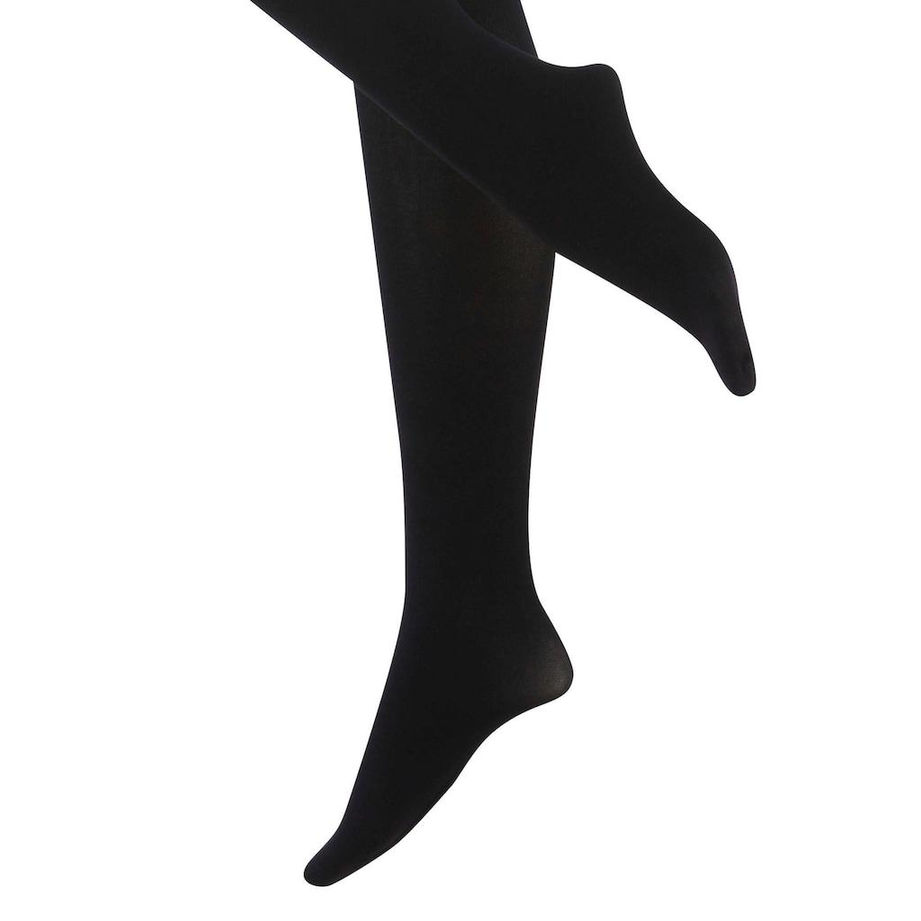Die Strumpfmacher Ouvert Strumpfhose, 20 DEN, (2 St.), mit Overknee-Optik