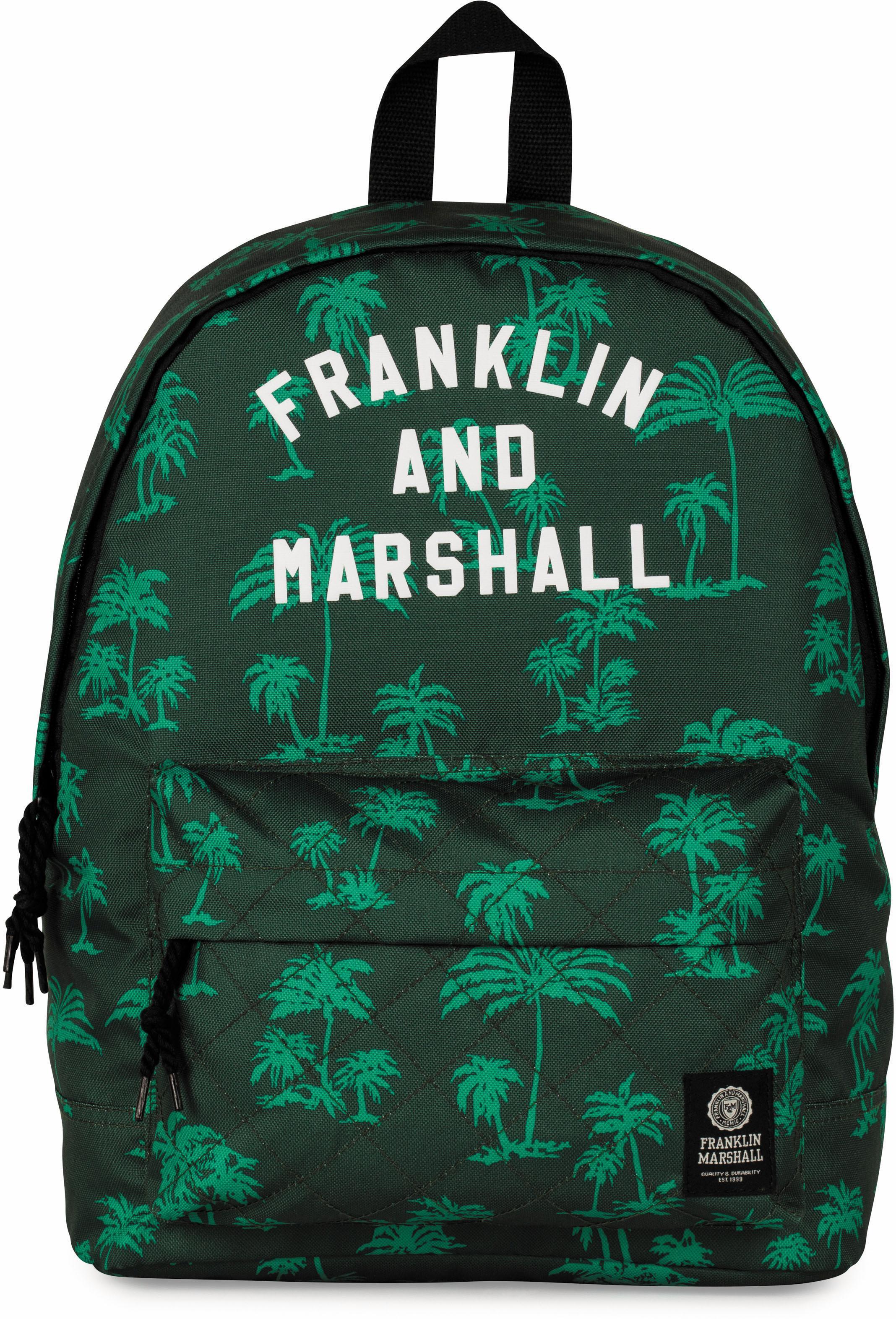Franklin & Marshall Rucksack Boys Palmen grün Preisvergleich
