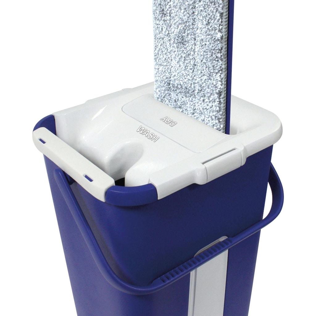 MediaShop Bodenwischer-Set »Livington Touchless Mop«, inkl. Doppeleimer und Mikrofaserpad, 2,7 Liter