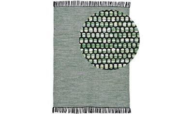 carpetfine Teppich »Kelim Nadi«, rechteckig, 5 mm Höhe, reine Baumwolle, Wendeteppich,... kaufen