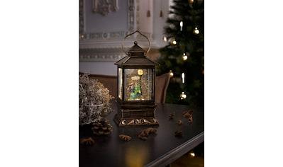 KONSTSMIDE LED Laterne, LED-Modul, 1 St., Warmweiß, LED Schneelaterne mit Pärchen, klein kaufen