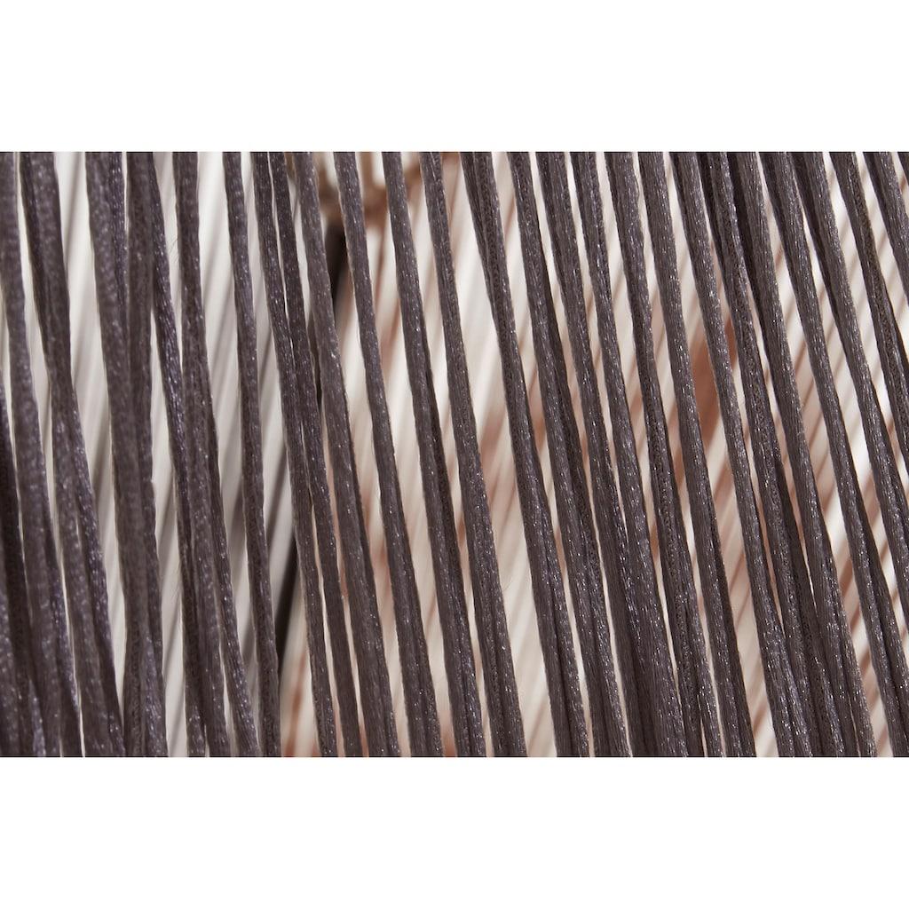 Home affaire Couchtisch »Roger«, Roger» mit Kordeln im Metallrahmen, Breite 90 cm