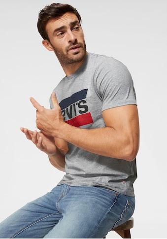 Levi's® T-Shirt, mit großem Logoprint kaufen
