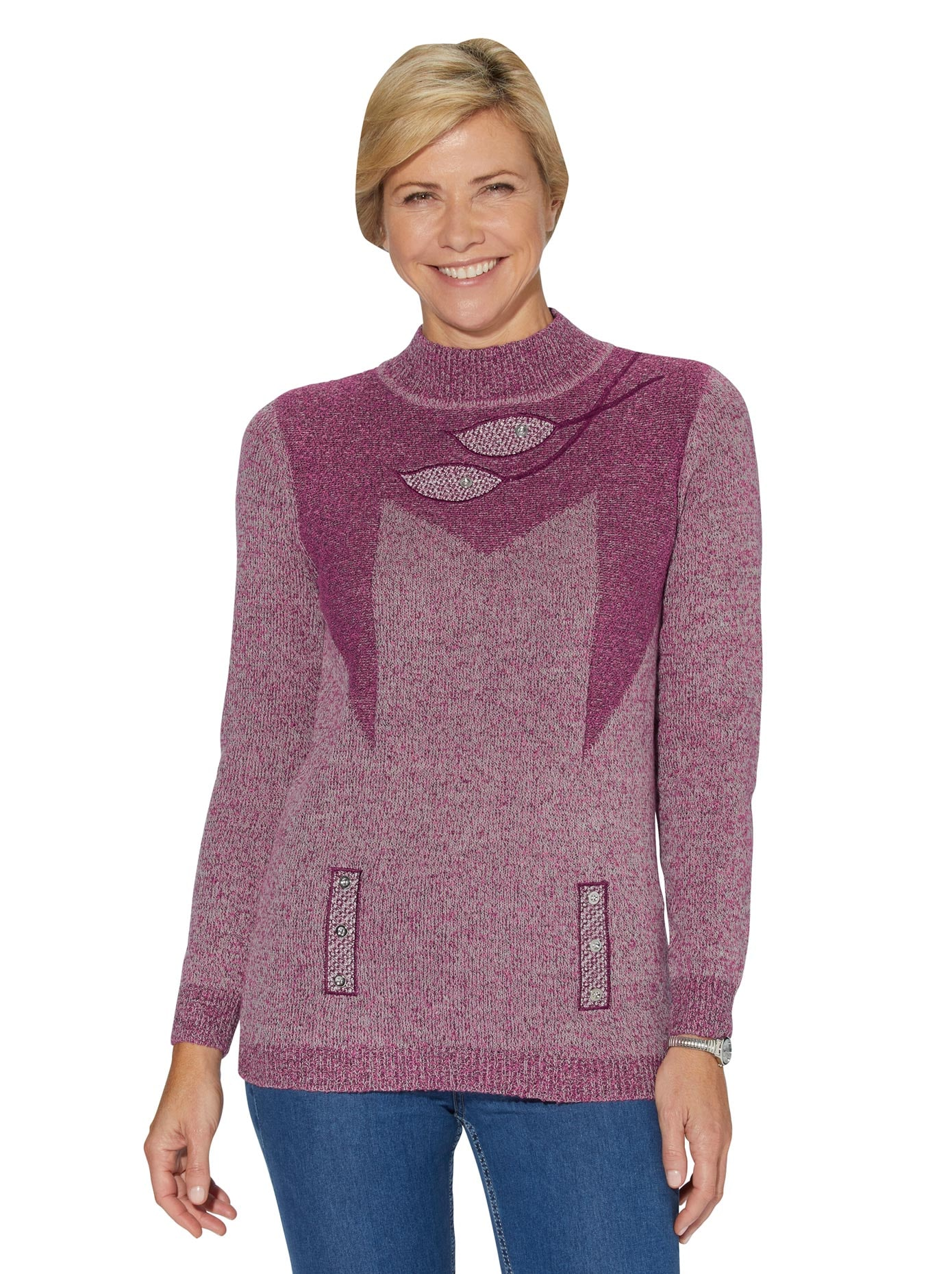 classic basics -  Strickpullover Pullover