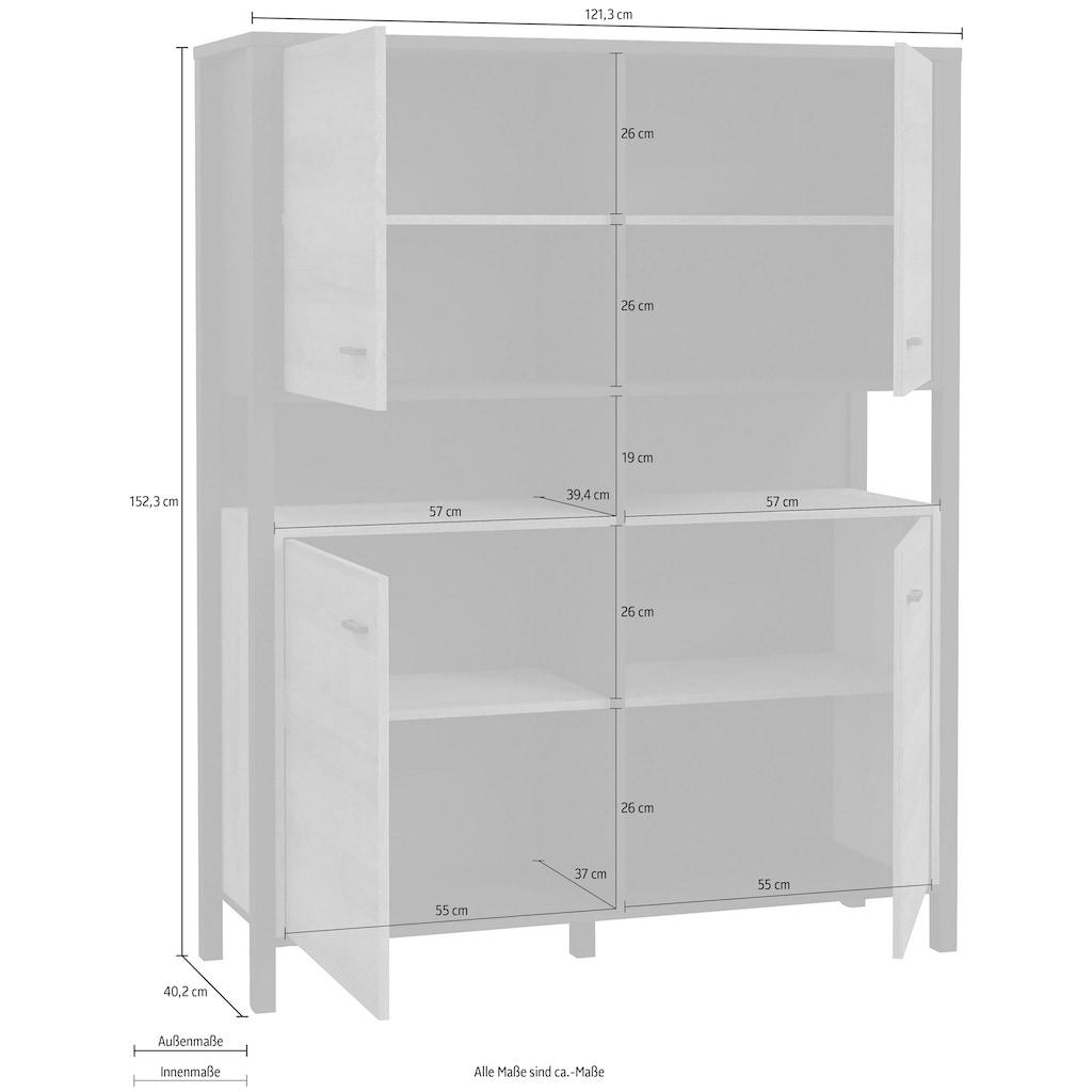 FORTE Highboard, Breite ca. 121 cm