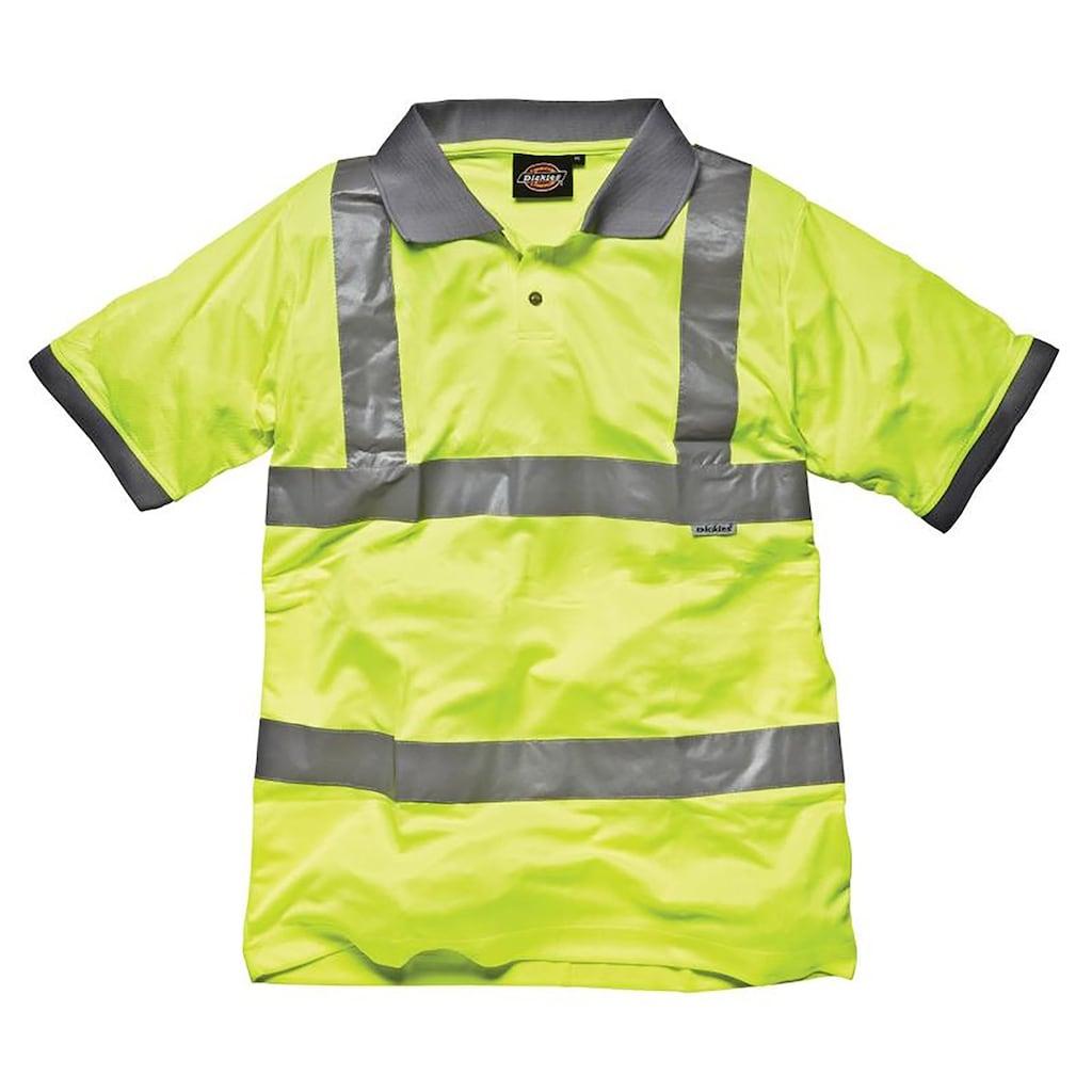 Dickies Poloshirt »Sicherheits Polo Shirt / Herren Arbeitskleidung mit Reflektoren«