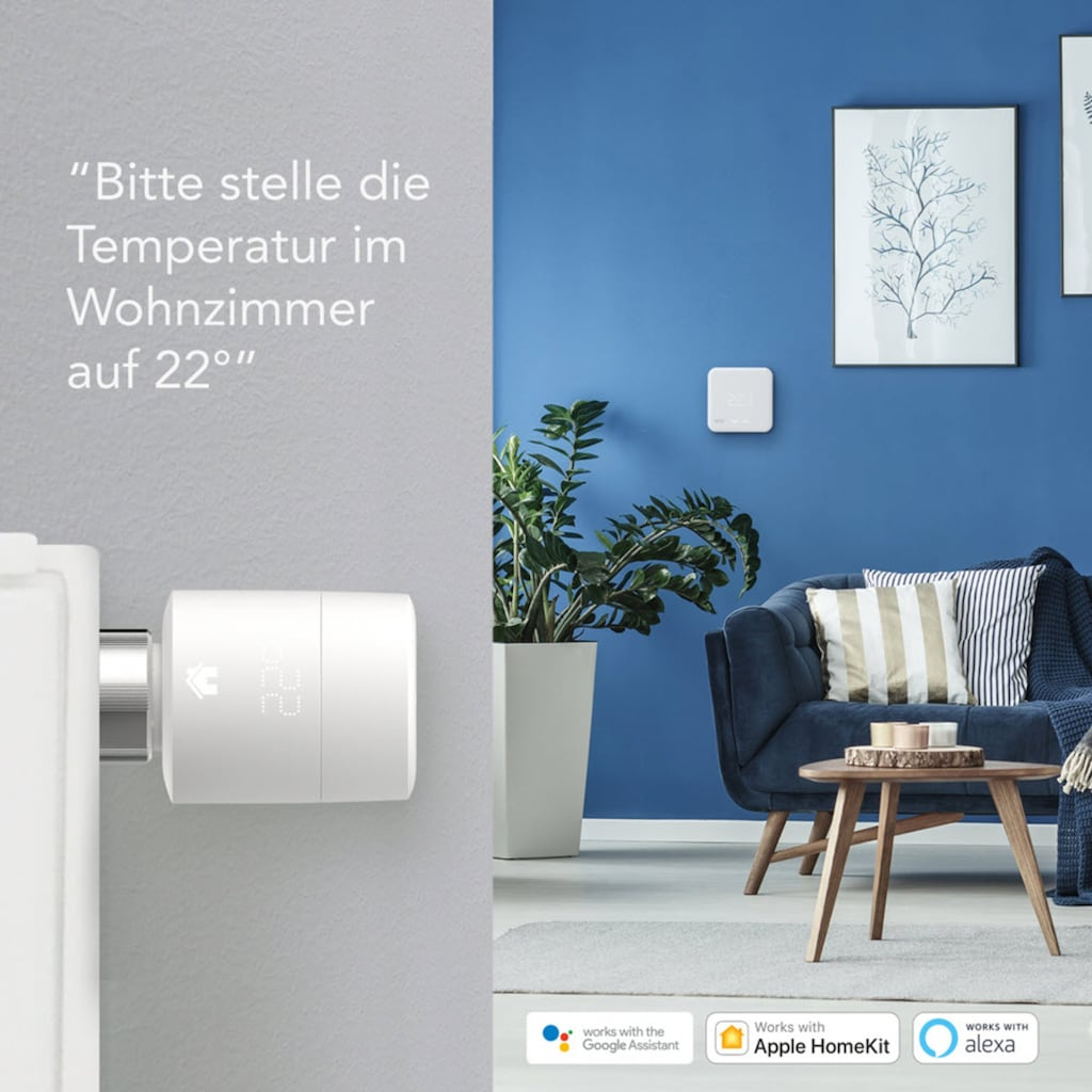 Tado Smart Home Zubehör »Smart Heizkörperthermostat - Quattro Pack«