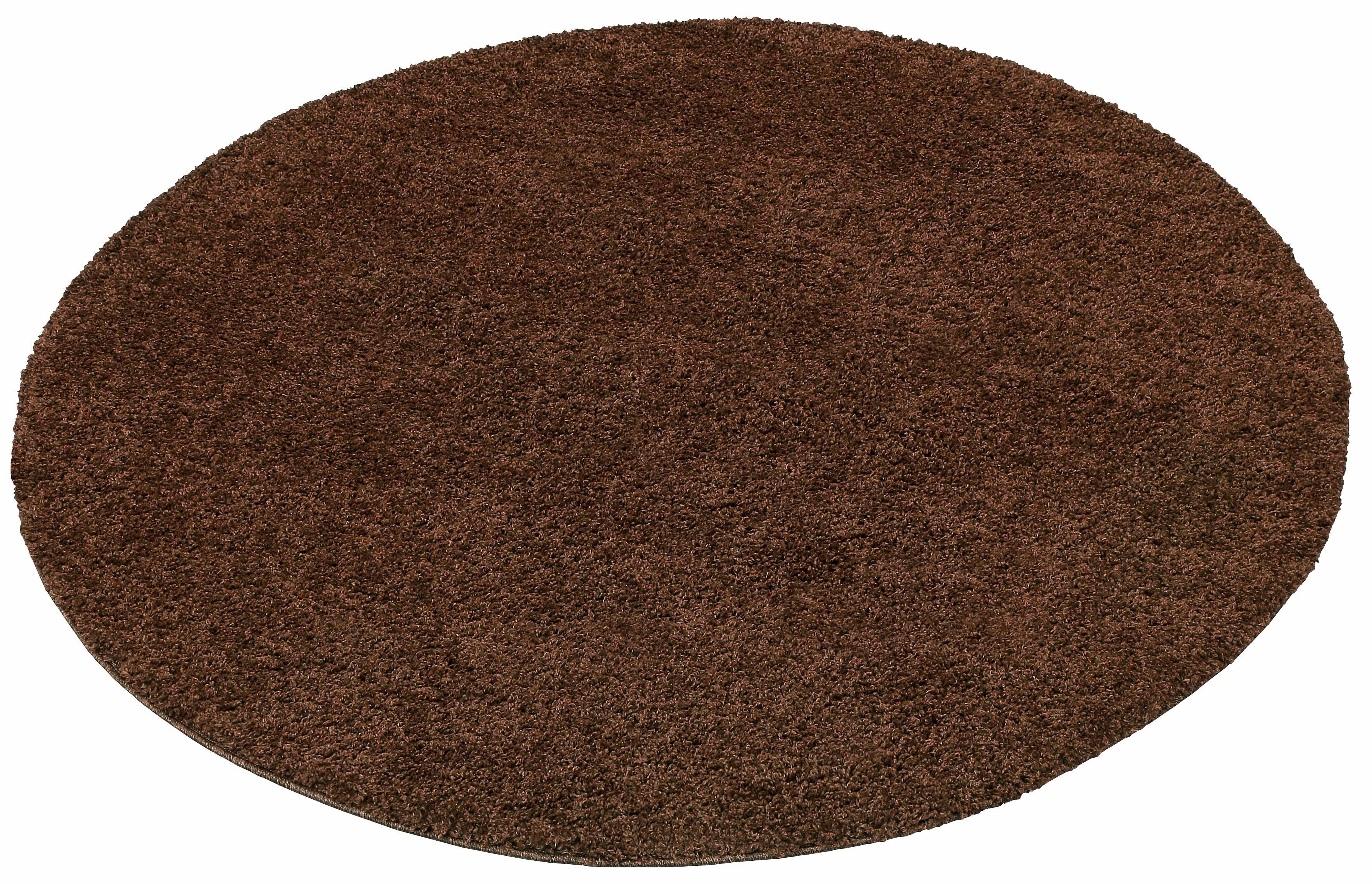 Hochflor-Teppich Bodrum my home rund Höhe 30 mm maschinell gewebt