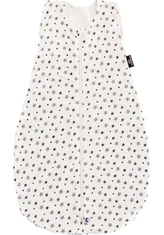 Träumeland Babyschlafsack »Sommerschlafsack LIEBMICH TENCEL™, Design weiß mit grauen... kaufen