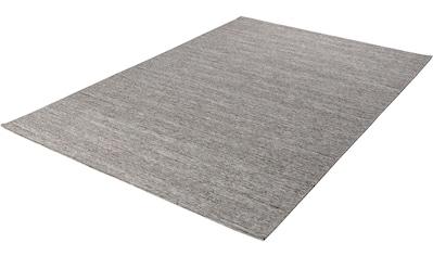 Teppich, »Kapstadt uni«, THEKO, rechteckig, Höhe 5 mm, maschinell gewebt kaufen
