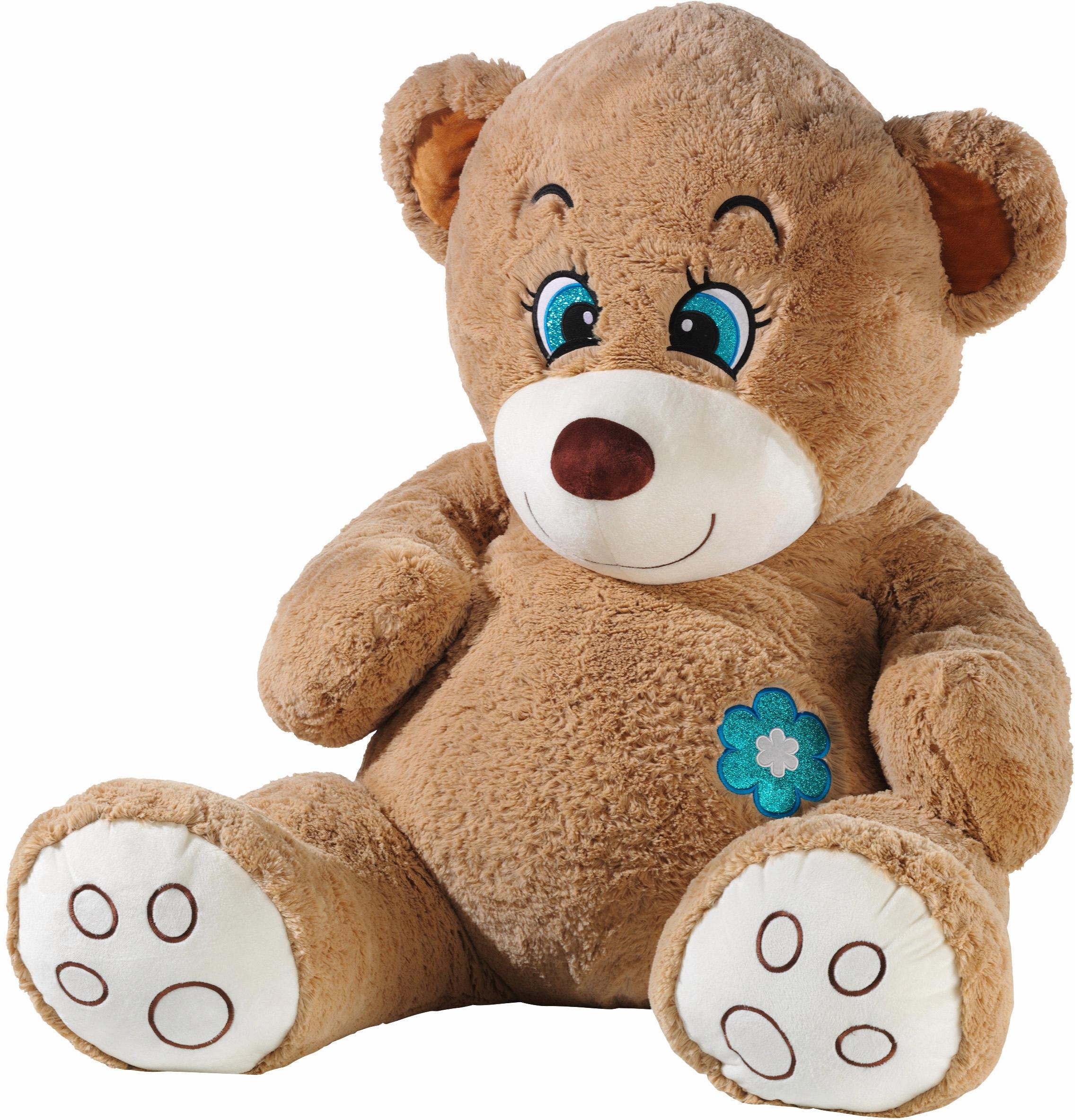 power peluche Acquista Teddy Xxl« teddy»flower glitter Heunec A5L4jR