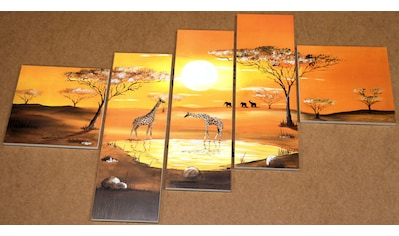 Home affaire Kunstdruck »Serengeti«, (Set, 5 St.) kaufen