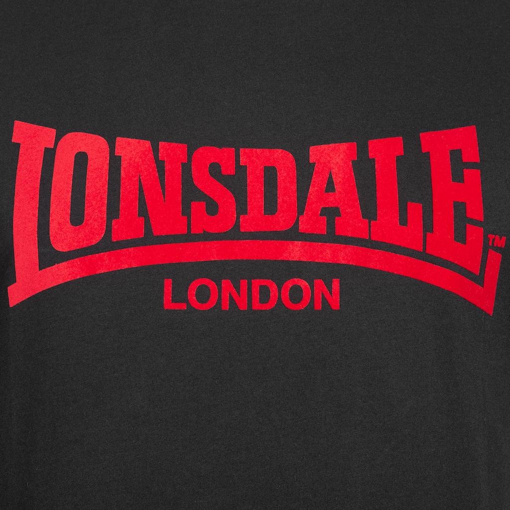 Lonsdale T-Shirt, im lässigen Schnitt