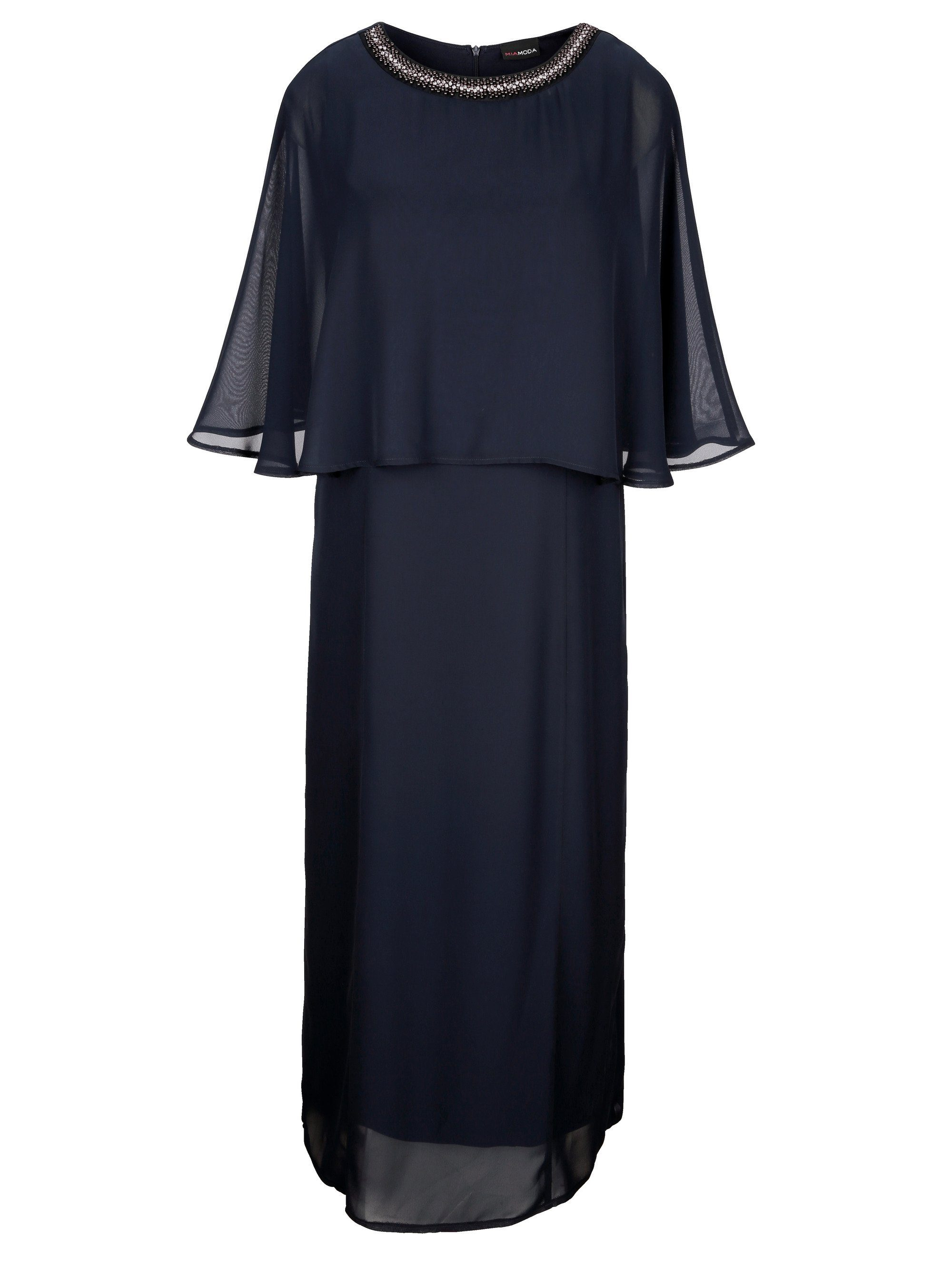 MIAMODA Kleid in festlicher Maxilänge