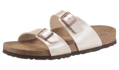 Birkenstock Pantolette »Sydney«, in schmaler Schuhweite kaufen