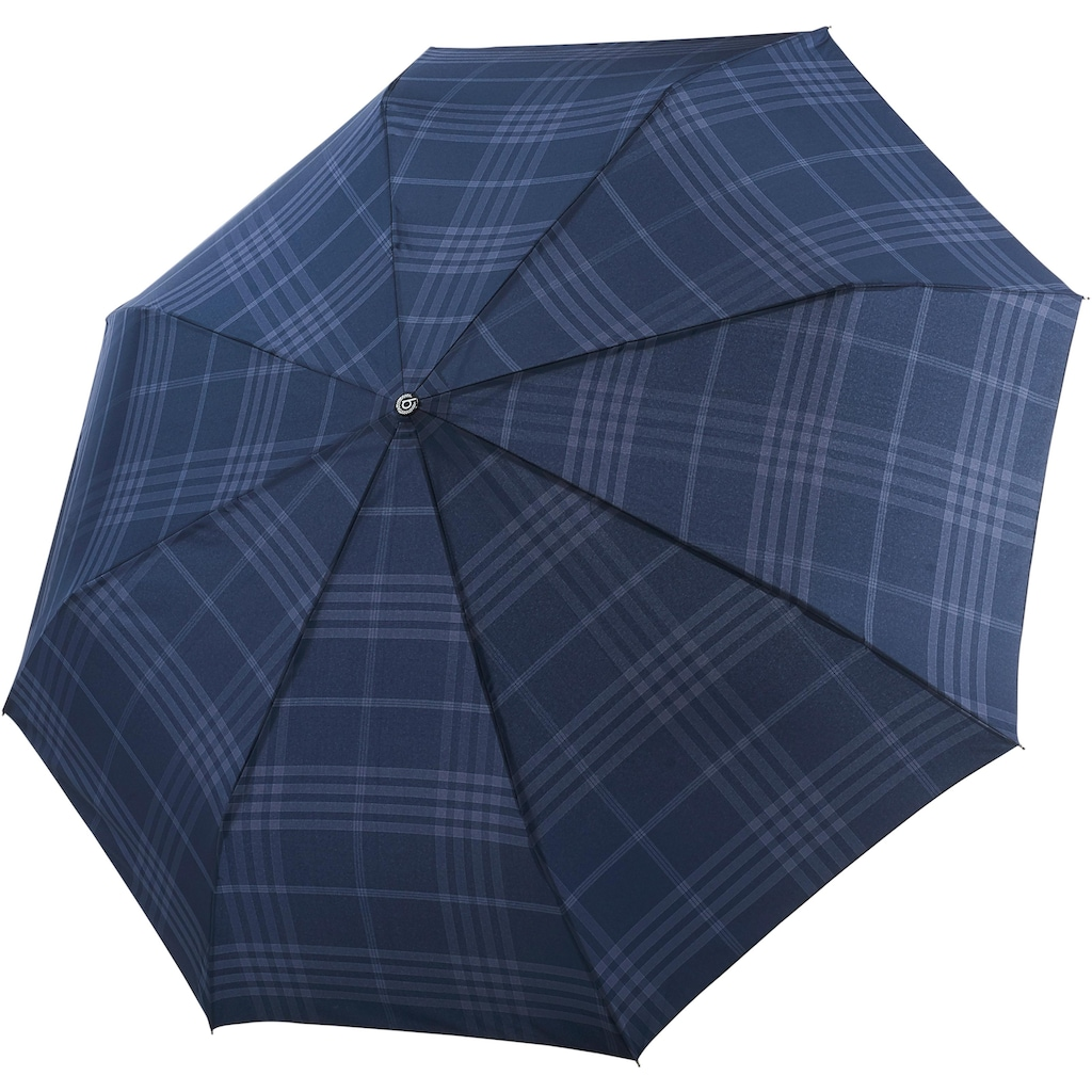 Taschenregenschirm »GRAN TURISMO, karo marine«