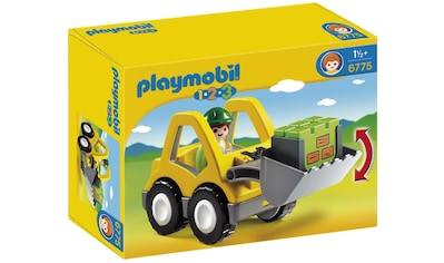 "Playmobil® Konstruktions - Spielset ""Radlader (6775), Playmobil 1 - 2 - 3"", Kunststoff kaufen"