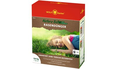 WOLF-Garten Rasendünger »Natura Bio«, verschiedene Gebindegrößen kaufen