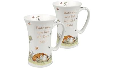 Könitz Becher »Weißt du eigentlich - Rate mal - Mega Mug«, (Set, 2 tlg.), 2-teilig kaufen