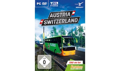 Der Fernbus Simulator -  AddOn Szenerie Österreich/Schweiz PC kaufen