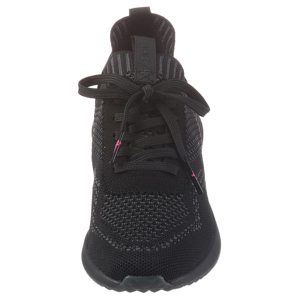 Tamaris Slip-On Sneaker »Fashletics«, in Strick-Optik