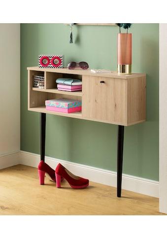 my home Kommode »Dotti«, mit einer rechteckigen Tischplatte, Konsolentisch Breite 85 cm kaufen